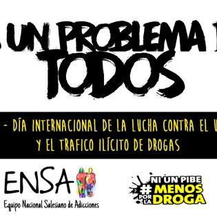 Día mundial de la lucha contra las adicciones