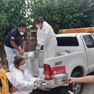 Cocinas solidarias – Casa Mons. Angelelli, La Rioja